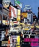 Street Life 2019: Großer Kunstkalender USA. Hochwertiger und farbintensiver Wandkalender mit Bildern des Künstlers Alain Bertrand. Format 45,5x55 cm.