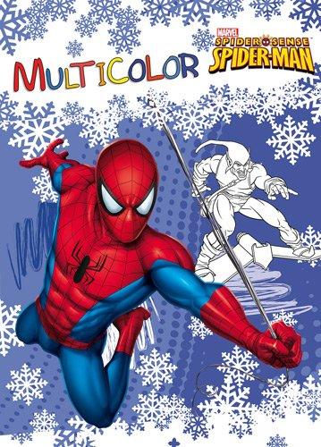 Multicolor Spiderman
