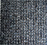 Mosaik-Netzwerk Mosaikfliese Quadrat uni Blue Pearl Granit Naturstein Wohnzimmerwand Küchenwand Boden Fliesenspiegel Spritzschutz Küche Duschwand Mosaik, Mosaikstein Format: 15x15x8 mm, Bogengröße: 305x322 mm, 10 Bögen