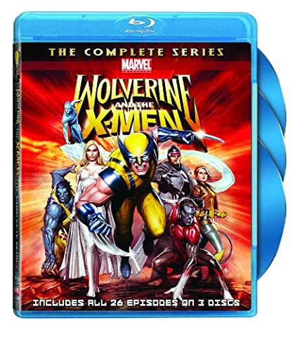 Wolverine & X-Men: Complete Series [Blu-ray] [Import anglais]