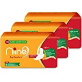 NIINE Extra Long 18 Sanitary Pads With Disposable Bags for Women (Pack of 3)