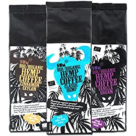 Hemp Coffee – Organic , Vegan and Gluten Free – 250 g