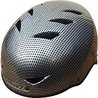HardnutZ calle casco de ciclo de HN102, Unisex, color gris oscuro, tamaño 54-58 cm