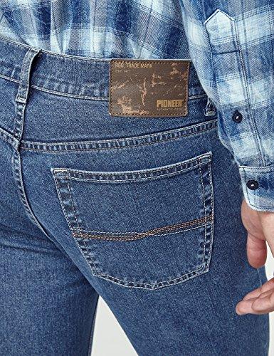 Pioneer Herren Straight Jeans Ron Blau (Stone 05)