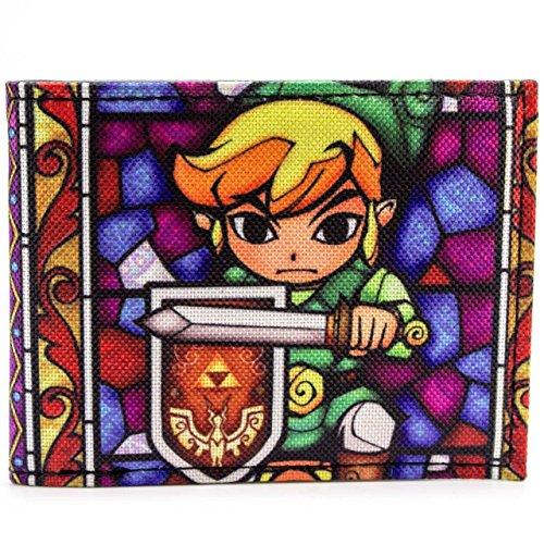 Cartera de Nintendo Zelda Wind Waker Multicolor