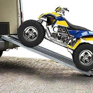 Autorampe Auffahrrampe Auffahrschiene Verladerampe Schiene Rampe PKW Auto 2 St. 400 kg