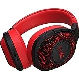 (Renewed) boAt Rockerz 550 Over-Ear Wireless Headphone with Ergonomic Aesthetics, Plush Padded Earcups, Immersive Audio, Blue