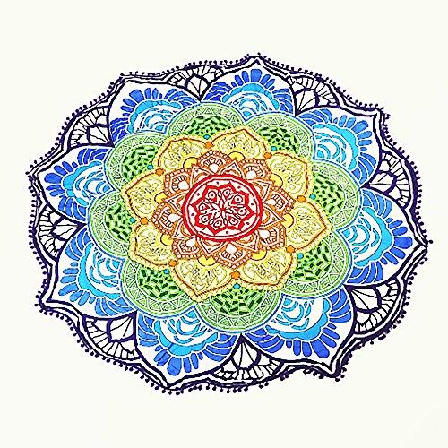 Mandala Fular estilo Hippy ideal para usar como...