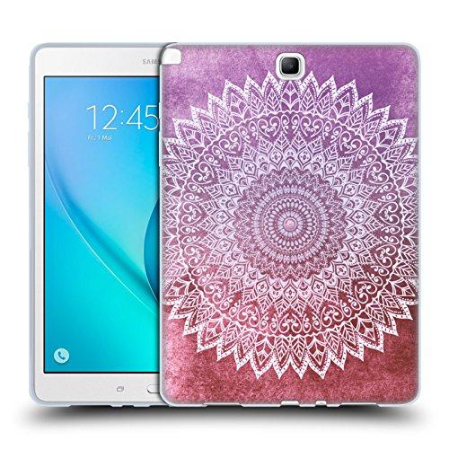 Preisvergleich Produktbild Offizielle Nika Martinez Herbstlaub Passion Mandala Soft Gel Hülle für Samsung Galaxy Tab A 9.7