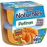 Nestlé naturnes potiron 2x130g dès 4/6 mois - ( Prix Unitaire ) - Envoi Rapide Et Soignée