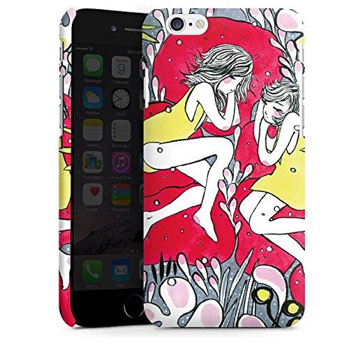 Apple iPhone X Silikon Hülle Case Schutzhülle Träumer Mädchen Frauen Premium Case matt