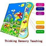 Snow-Day Giocattoli Elettronici per Bambini, E-Book per Bambini Inglese per Bambini E Libri Elettronici per L'infanzia