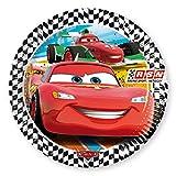 Memory Cars-RSN assiettes, diamètre 23 cm, Lot de 8