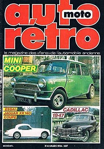 Auto Moto Retro N°43 mars 1984 : Mini cooper Jaguar