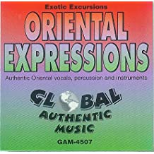 Oriental Expressions, Ecotic Excursions, Authentic Oriental vocals instruments, percussion and instruments [Global Authentic Music, Audio-CD GAM-4507, Surround]