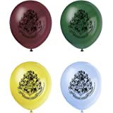 Unique Party - Globos de Látex - 30 cm - Diseño de Harry Potter - Paquete de 8 (59075)