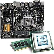 Intel Core i3-7100 / ASUS H110M-A/M.2 Mainboard Bundle / 8192 MB | CSL PC Aufrüstkit | Intel Core i3-7100 2x 3900 MHz, 8192 MB DDR4, Intel HD Graphics 630, GigLAN, 7.1 Sound, USB 3.1 | Aufrüstset | PC Tuning Kit