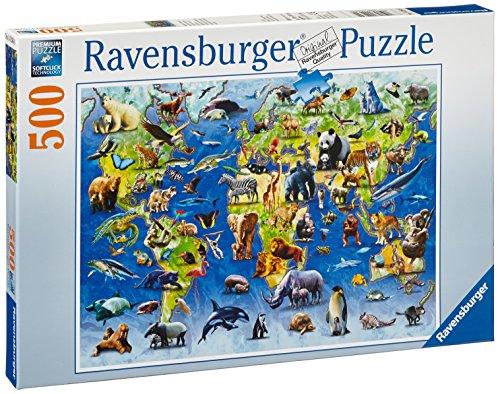 Ravensburger 14264 - Bedrohte Tierarten - 500 Teile Puzzle