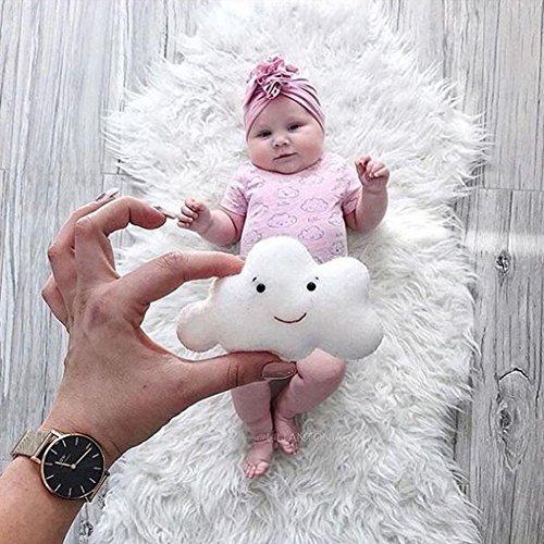 Fotografie Wrap, DIY Neugeborene Fotografie Requisiten Decke, Baby Requisiten gedruckt Baumwolle monatliche Meilenstein Wrap Swaddle Decken,EINWEG Verpackung ()