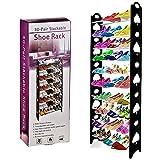Organizador de zapatos con 10 niveles y capacidad para 30 pares de zapatos de ARIANA HOMEWARE