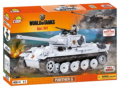 COBI WORLD OF TANKS - 3012 - PANTHER G