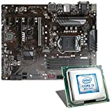 Intel Core i3-8100 / MSI Z370-A Pro Mainboard Bundle | CSL PC Aufrüstkit | Intel Core i3-8100 4X 3600 MHz, Intel UHD Graphics 630, GigLAN, 7.1 Sound, USB 3.1 | Aufrüstset | PC Tuning Kit