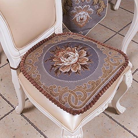 LJQ KIU Slittamento pad sedia panno/ Spesso cuscino del sedile