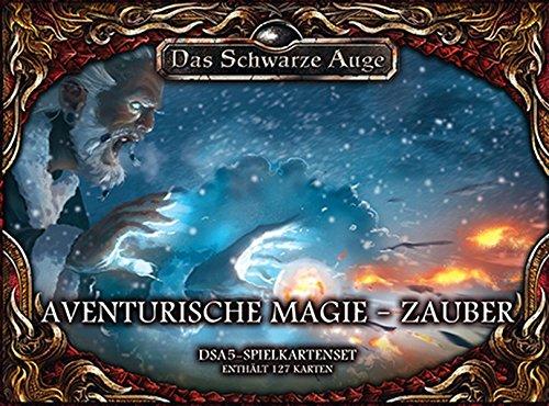 dsa5 spielkartenset Spielkartenset Aventurische Magie – Zauber (Das Schwarze Auge - Zubehör)