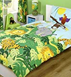 Jungle Toddler Bedding with Lions, Tigers and Monkeys