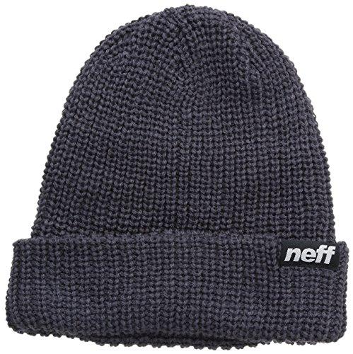 Neff, Cappellino da Uomo Heavy, Nero (Charcoal), Taglia unica