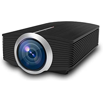 Video Projector, VPRAWLS 1200 Lumens Home Theater Projector LED Full HD 1080P Office TV Movie Projector with HDMI USB VGA AV for Home Cinema PC Laptop PS3/PS4 Xbox iPhone Andriod Smartphone