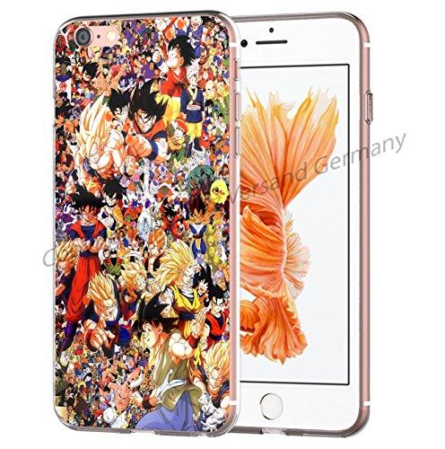 Blitz® Dragon Ball Z motifs housse de protection transparent TPE iPhone M9 iPhone 7 M9