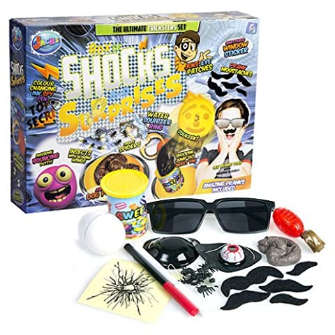 Child kids giant box of shocks & surprise jokes pranks toy game set - With so much to see and do, you'll be annoying your mates for the weeks to