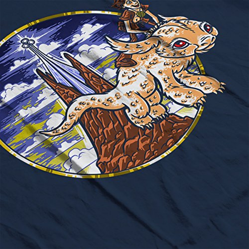 How To Train Your Luck Dragon Neverending Story Women's Vest Navy blue