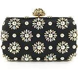 N/A DJBYY Frauen-Perlen-Taschen-Tasche Henkeltasche Geldbeutel Handgemachte Wulstige Handtaschen .Size 20 * 6 * 11.5m