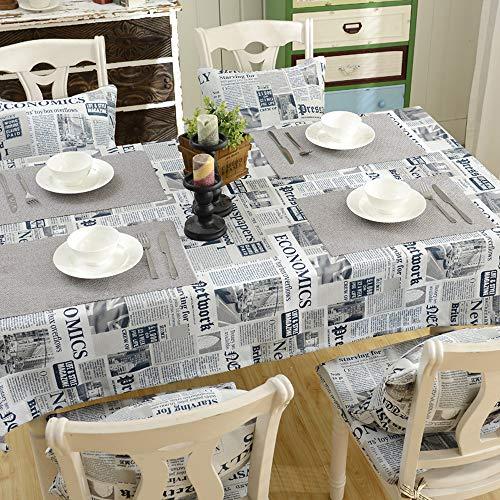 Nappe européenne américaine Nappe Coton et Lin rectangulaire Jardin Petite Table de thé fraîche Table Ronde Serviette de Table de Table carrée