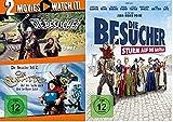 Die Besucher + Die Zeitritter + Sturm auf die Bastille / DVD Set / Teil 1+2+3