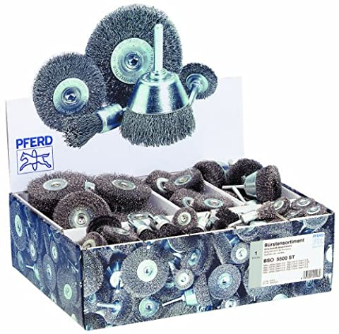 Pferd 43900003 Set of Brushes BSO 5600 Stainless Steel