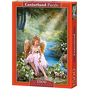 Castor 150908 - Angelo di fiori - Puzzle 1500 pezzi