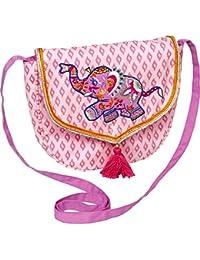 Bolso de Colgar en Rosa con Elefante Oriental Serie Princesa Lillifee Oriental