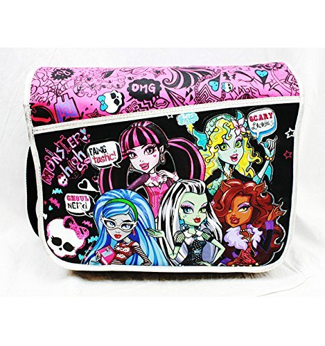 Messenger Bag – Monster High – Scary Schule Bag Mädchen New Anime mh20761