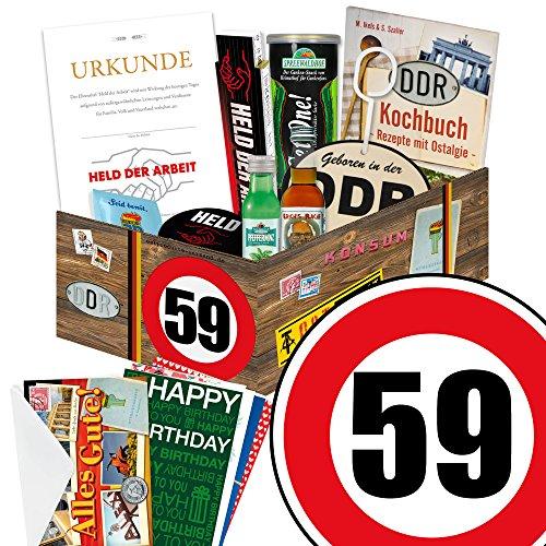 chte Ossi Männer zum 59. - DDR Paket Männerbox + Geschenkverpackung