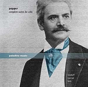 Popper: Complete Suites For Cello & Piano [Alexander Hulshoff, Martin Rummel, Mari Kato] [Paladino: PMR0007]