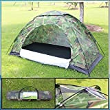 FWQPRA Multifunctional 8 Person Military Picnic Camping Portable Waterproof Dome Tent