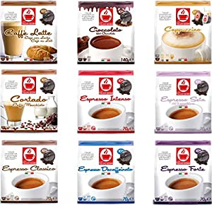 Buy 60 Dolce Gusto Compatible Coffee & Hot Chocolate Capsules Variety Pack - YOU CHOOSE BLEND from Tiziano Bonini