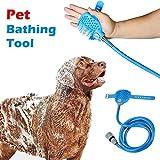WINNERUS 1 UNID Lavado Cómodo Ajustable Pet Para Ducha Cepillo Masajeador Cabeza de Baño Rociadores de Baño de Limpieza Perro Gato Herramienta de Baño