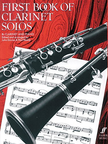 First Book of Clarinet Solos (Faber Edition) by John Davies (1998-12-01)