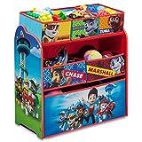 Spielzeugregal - Standregal - Aufbewahrungsregal 6 Boxen mit Motivauswahl