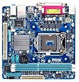Gigabyte GA-H61N-D2V Mainboard Sockel LGA 1155 (mini-ITX, Intel H61, 2x DDR3 Speicher, 4x SATA II, DVI-I, RJ-45, 4x USB 2.0)