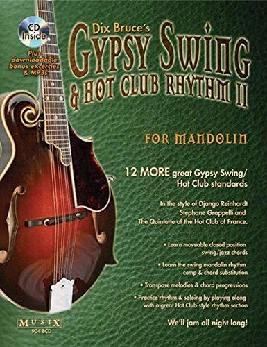 Gypsy Swing & Hot Club Rhythm II for Mandolin [With CD (Audio)] por Dix Bruce